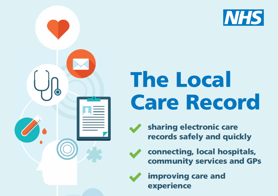 Local care record