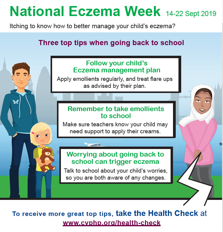 2019 National Eczema Week LS poster