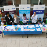 CYPHP stall at King's College Hospital May 2018