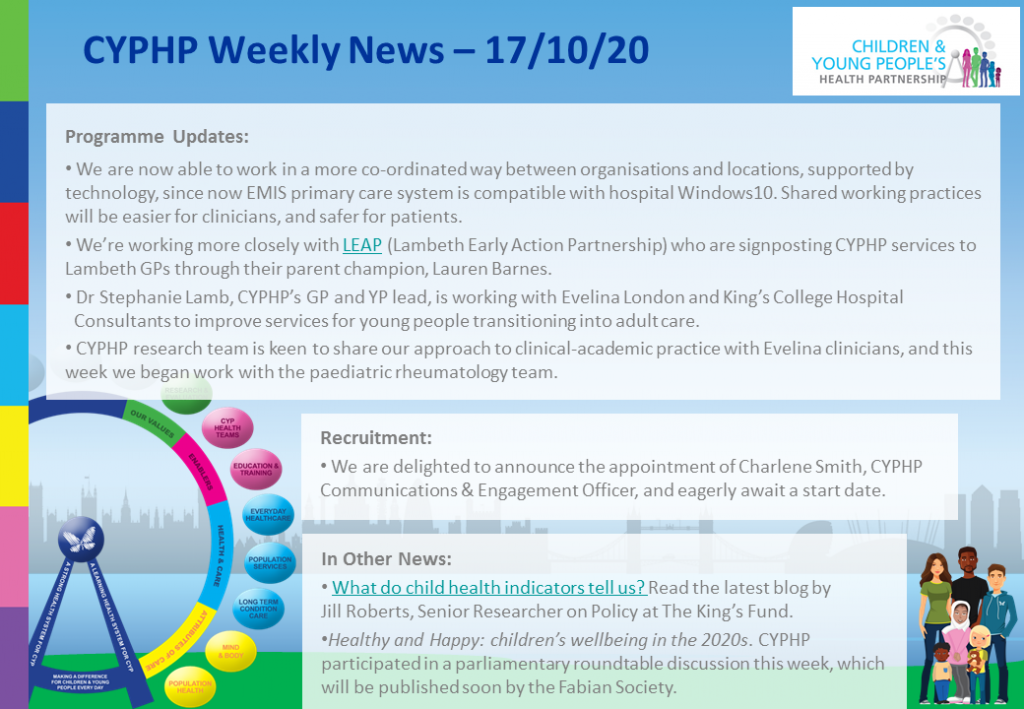 CYPHP Weekly News   171020