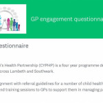 Home page of GP Guidelines questionnaire