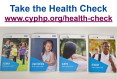 Health check  website link and image of Health Support Packs