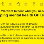 GP guidelines flyer